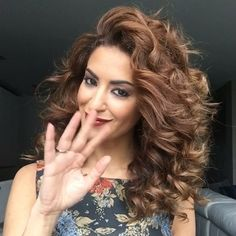 Feeling glamorous is this curly updo Tag your bestie with curls and have fun creating this look