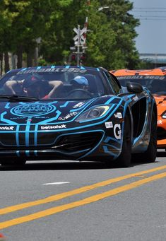 Mc Laren MP4 12C Gumball 3000 (2014)