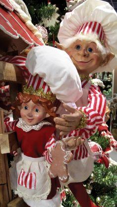 Oli and Kayla Elves Luxury Christmas Tree, Merry Christmas To All, Christmas Store, Christmas Kitchen, Cozy Christmas, Little Christmas, Christmas Wishes, Christmas Themes, All Things Christmas