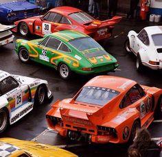 Porsche 911 RSR 935 paddock