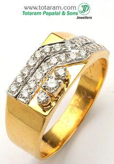 Totaram Jewelers: Buy 22 karat Gold jewelry & Diamond jewellery from India: Rings