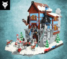 LEGO Wolf-pack Fort [LCC][GC4] Bothemor Keep | Flickr - Photo Sharing!