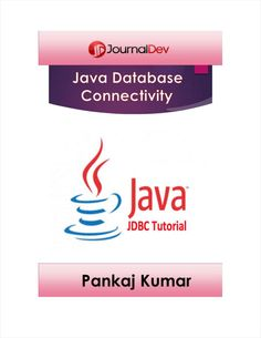 Free eBook to Java Database Connectivity (JDBC) Tutorial This is a comprehensive tutorial on JDBC API and its important features such as DataSource, Apache DBCP and Transaction Management. Science Books, Computer Science, Java, Free Ebooks, Connection, Journal, Computer Technology