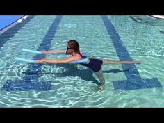 intro to aqua yoga ecourse Cool Down Exercises, Upward Facing Dog, Mountain Pose, Yoga Books, Water Aerobics, Major Muscles, Yoga Sequences, Yoga Videos, Physical Activities