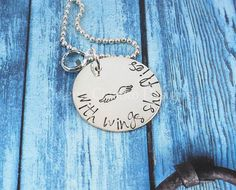 Hand Stamped Necklace Sterling Silver Name by delenasdesigns, $40.00