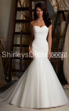 Ruched And Pleated Simple Style Mermaid Wedding Dress With Beaded Cape Clarissa Carrion Pear Shaped