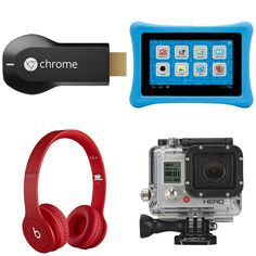 Awesome last-minute tech gifts (we'll take the GoPro please)