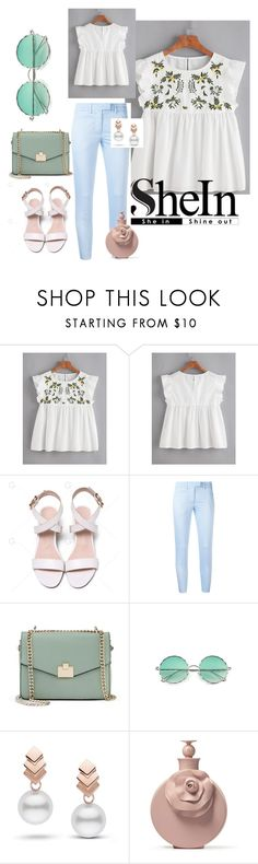 """""""flowers armament"""" by natali-lustova ❤ liked on Polyvore featuring Dondup, Jennifer Lopez and Escalier"""