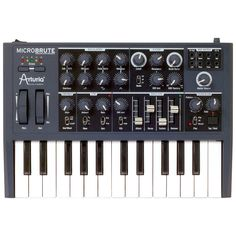ARTURIA MicroBrute  has an amazing sound.