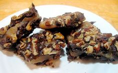 Dark Chocolate Buttercrunch: step-by-step photos and tips.