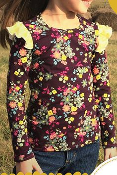 Girls Fun, Under Dress, Your Girl, Cool Tees, Floral Tops, Awesome, Long Sleeve, Skirts, Sleeves