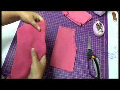 Aulinha informal com Vivi Prado 1 - com fazer uma calça para boneca