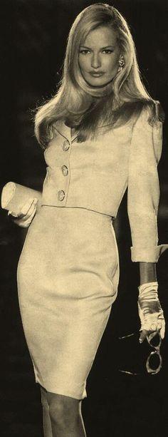 Karen Mulder: Versace