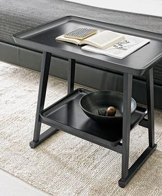 Colección de mesas Recipio de Antonio Citterio para Maxalto