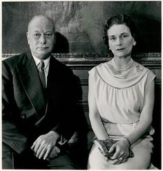 Princess Alice, the Duchess of Gloucester with her husband Prince Henry, the Duke of Gloucester.