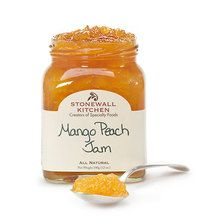 STONEWALL KITCHEN Mango Peach Jam $6.95 CULINART sells the Finest, Freshest Brand Name Ingredients at the Best Prices around.  Pick up your order or we will ship FREE Worldwide! No Hidden Costs. www.shopculinart.com