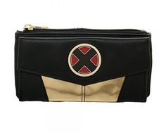 Marvel X-men Front Flap Jrs. Wallet for sale online Harley Quinn, Thor, Iron Man, Pikachu, Men Logo, Cute Wallets, Star Wars, Marvel X, Marvel Logo