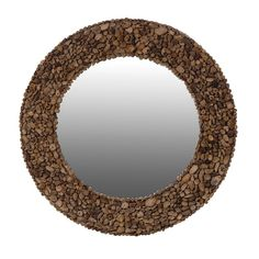 Add a natural touch to your interior with our round driftwood mirror. Its individually selected pieces of driftwood makes this mirror stand out on any wall with its unique design. Wall Mirrors Horizontal, Tall Wall Mirrors, Oversized Wall Mirrors, Wall Mirrors Entryway, Black Wall Mirror, Rustic Wall Mirrors, Mirror Bedroom, Round Wood Mirror, Driftwood Mirror