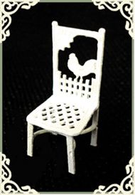 """1/4"""" ROOSTER CHAIR"""