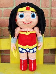 Ravelry: Super Gal - Kid Hero pattern by Mary Smith