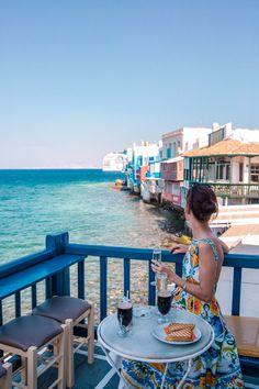 Mykonos Blues - Greece © thevivalavita.com - Viva La Vita, lifestyle blog from Cyprus Mykonos Blue, Mykonos Greece, Crete Greece, Athens Greece, Santorini, The Places Youll Go, Places To Go, Myconos, Greece Photography