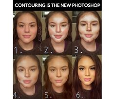 Here is a step by step of how to contour your face.  I personally do not do this nor will I ever attempt to but for those of you who are interested give it a
