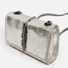 Image 5 of METAL DETAIL CROSSBODY BAG from Zara