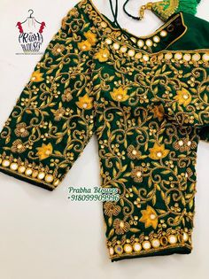 Cotton Saree Blouse Designs, Cutwork Blouse Designs, Kids Blouse Designs, Hand Work Blouse Design, Bridal Blouse Designs, Embroidered Blouse, Lehenga, Maggam Works, Beautiful Soul