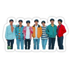 BTS stickers featuring millions of original designs created by independent artists. White or transparent. Pop Stickers, Meme Stickers, Tumblr Stickers, Printable Stickers, Korean Stickers, Bts Love Yourself, Bts Aesthetic Pictures, Bts Chibi, I Love Bts