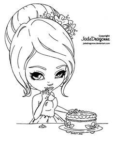Cake Icing by JadeDragonne