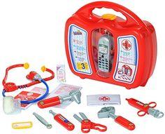Klein - 4350 - Jeu d'imitation - Mallette docteur avec accessoires et téléphone portable, http://www.amazon.fr/dp/B0002GTFUS/ref=cm_sw_r_pi_awdl_xs_XY1nyb0AM5E52