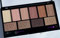 Not sure but this I ♡ Makeup I ♡ Obsession palette-Pure Cult from Makeup Revolution looks very very similar to the Lorac Unzipped Palette.
