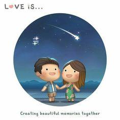 Amor es...crear memorias maravillosas juntos