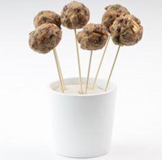Polpette di vitello con mele e coriandolo #fingerfood #recipes #italianfood #meatballs