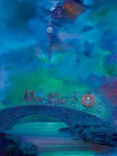 """Disney """"BEFORE MIDNIGHT"""" Size: 32 x 24 