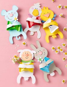 Good Totally Free easter Paper Crafts Popular Hence, you decide that will paper crafts are generally where by you would like to start out your cur Cute Kids Crafts, Easter Crafts For Kids, Diy And Crafts, Diy Ostern, Newspaper Crafts, Easter Activities, Easter Celebration, Spring Crafts, Diy Gifts