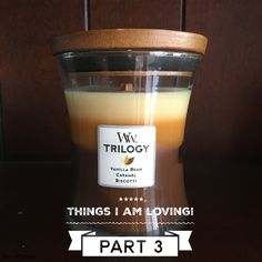 Wood Wicks Trilogy Candles