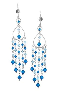 Jewelry Design - Earrings with Swarovski Crystal Beads - Fire Mountain Gems and Beads