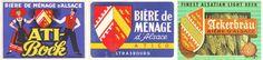 Héraldie: Étiquettes de bière et héraldique en Alsace