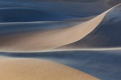 a late-day sandstorm at the Mesquite sand dunes in Death Valley National Park by Rob Kroenert