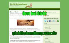 Brot bei Gicht - Lebensmittel / Ernährung Whole Wheat Flour, Foods, Natural Remedies, Health