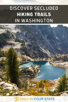 Camping And Hiking, Hiking Trails, Pacific Northwest Trail, Washington Nationals Park, Washington Hiking, Best Bucket List, Lake Stevens, Mount Rainier National Park, Hidden Beach
