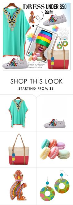 """""""Shein 2"""" by e-mina-87 ❤ liked on Polyvore featuring NOVICA"""