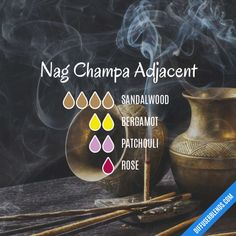 Nag Champa Adjacent - Essential Oil Diffuser Blend
