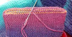 Kitchener Stitch, Brother Knitting Machine, Diana Sullivan, Machine Knit Socks, Knitting Machine Pattern