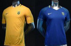 Maillot de foot Brésil pas cher 2016 Olympiques