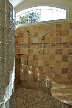 MS Shower Please?   Custom Tile Shower