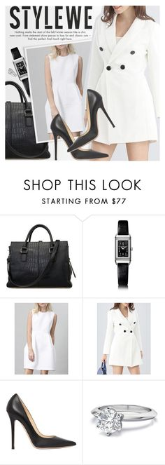 """""""STYLEWE: Lady"""" by an1ta ❤ liked on Polyvore featuring Jaeger-LeCoultre and Jimmy Choo"""