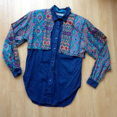 1990s Vintage Southwestern Woman's Button Down / Vintage Western Shirt / Long Sleeve Blouse by TheHighwayThrifters on Etsy #westernwear #vintagewestern #vintagerodeo #vintagebuttonup #vintageblouse #vintagebuttondown #hipsterfashion #hipster #hipsterootd #thehighwaythrifters #etsyvintage #rodeo #cowgirl #countrygirl #1990s #90s #90sfashion #90sgirl #fblog #fashionblogger