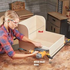Build an Ultimate Container Storage Cabinet — The Family Handyman Diy Storage Table, Diy Kitchen Storage, Storage Shelving, Kitchen Pantry, Kitchen Organization, Container Organization, Food Storage Containers, Diy Pull Out Shelves, Under Cabinet Drawers
